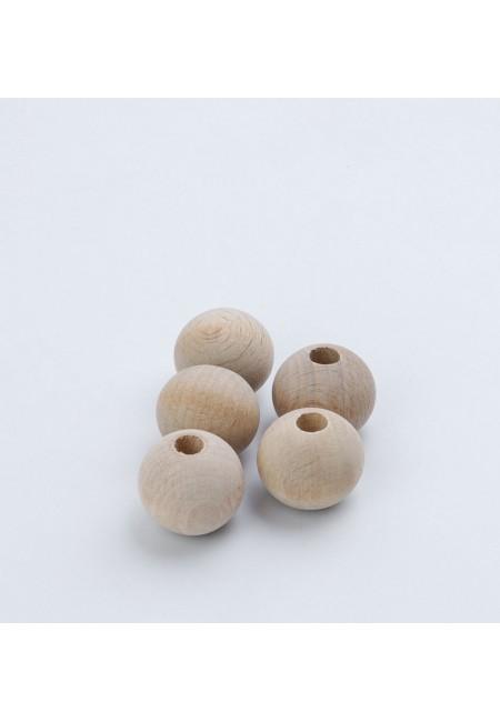 5 Pack 26 mm Round Bead  Macramé