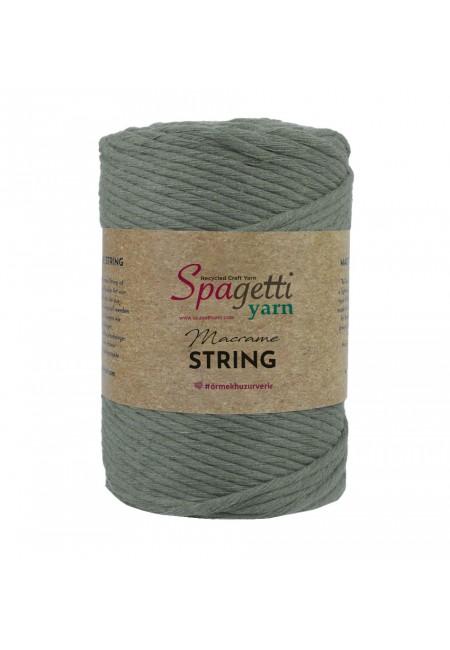 Khaki  Macrame String 3mm