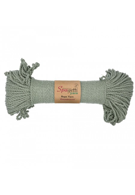 Vintage Green  Rope Yarn 3mm