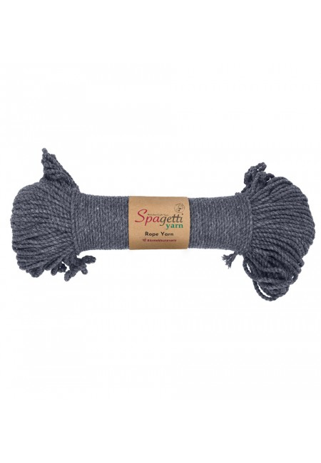 Dark Grey Rope Yarn 3mm
