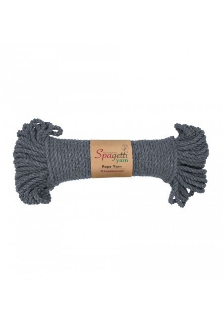 Dark Grey Rope Yarn 5mm