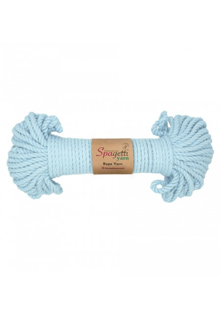 Light Blue Rope Yarn 5mm