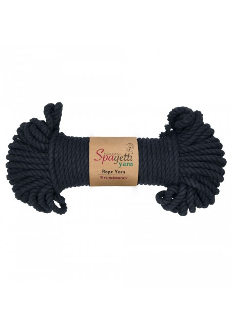 Black Rope Yarn 6mm