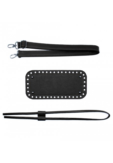 black bag accessory set