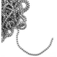 İnce Gümüş Zincir 5mm