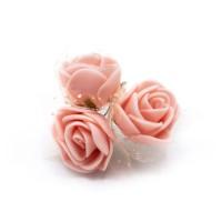 Tüllü Somon Yapay Çiçek
