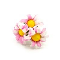 Pembe Papatya Yapay Çiçek