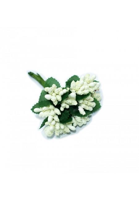 White Bud Flower