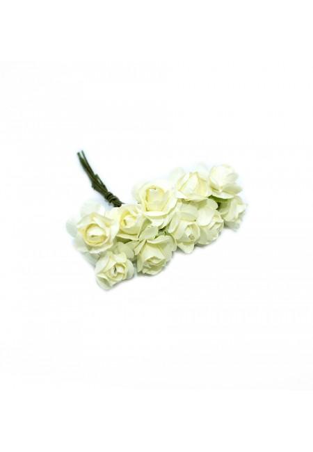 Candy White Mini Rose