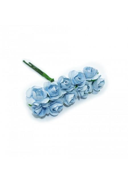 Light Blue Mini Rose