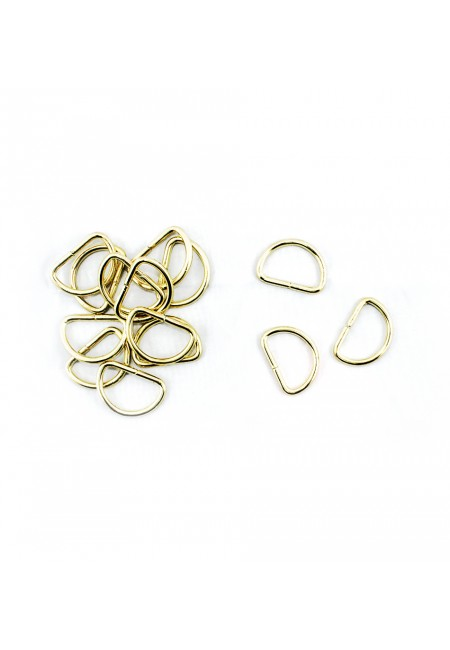 Gold D-Ring