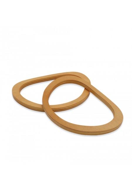 Wooden Bag Handle 12cm