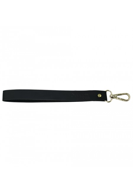 Black Bag Handle With Gold End