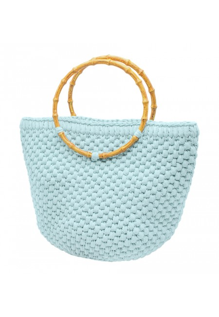 Beach Bag With Round Hanger