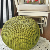 Crochet Pouf Kit