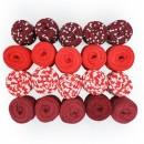 20 li Paket Kırmızılar  Grubu Penye İp