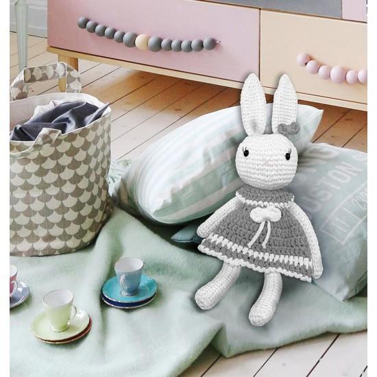 Amigurumi Tavşan Kiti Füme