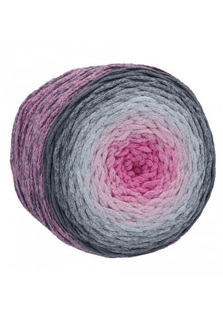 Spagetti Yarn Makrome Cake Pembe İnci